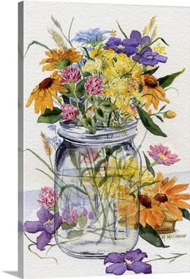 Wildflower Jar