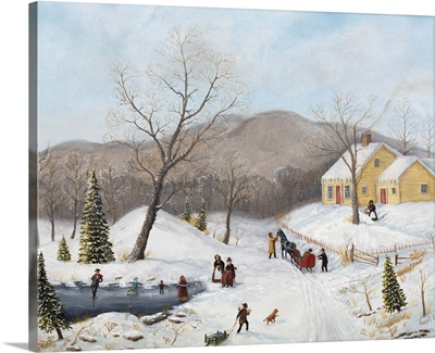 Winter At The Old Homestead