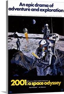 2001 Space Odyssey 2 Sci Fi Movie Poster