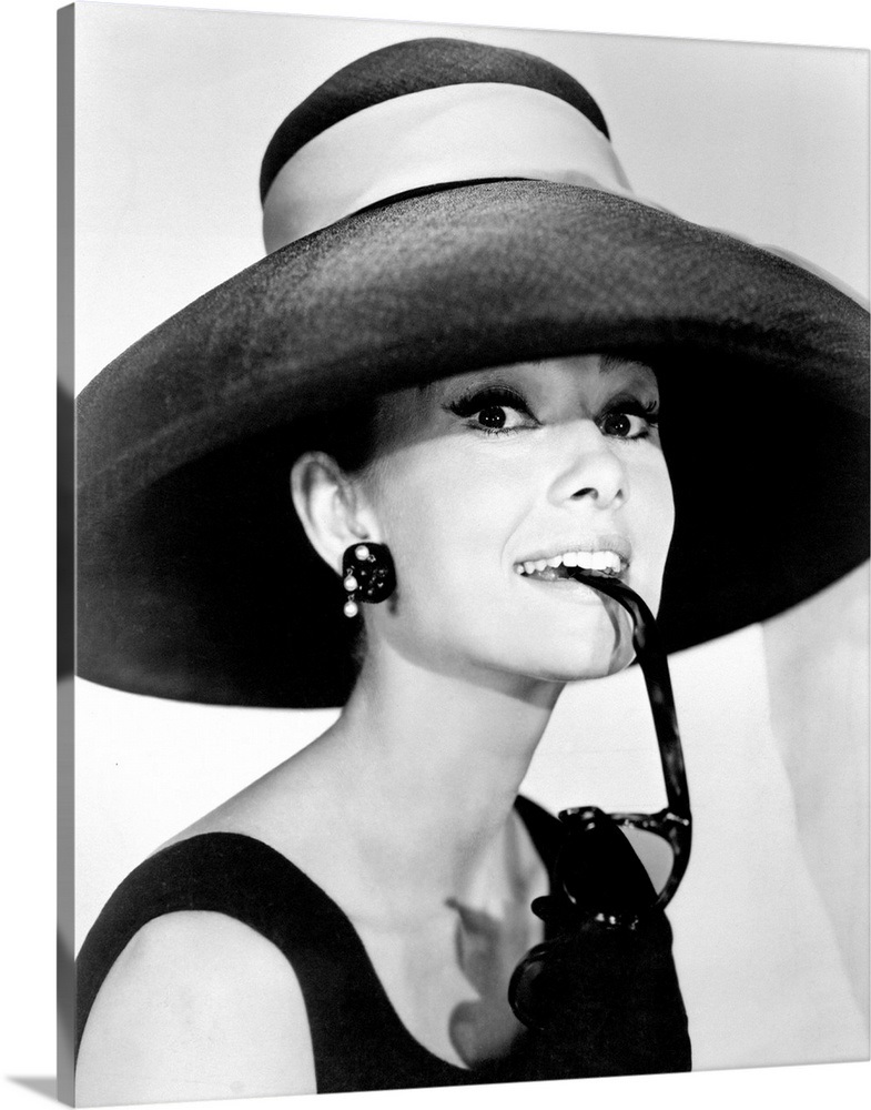 574cd4c1aad Audrey Hepburn B Wall Art