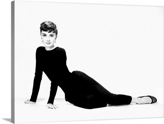 Audrey Hepburn Wall Art audrey hepburn b wall art, canvas prints, framed prints, wall