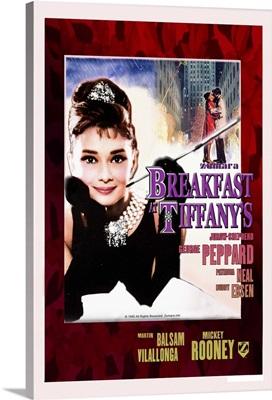 Audrey Hepburn Breakfast At Tiffanys Xmas