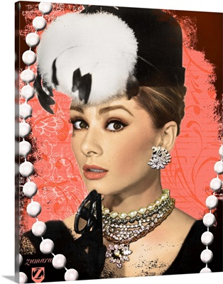 Audrey Hepburn Diamonds and Pearls