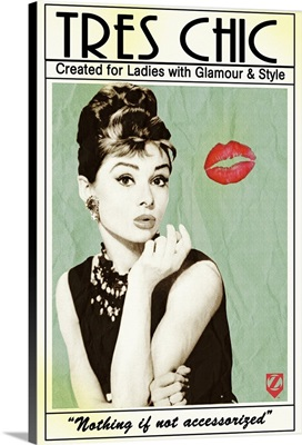 Audrey Hepburn Tres Chic