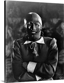 B and W Man In The Iron Mask