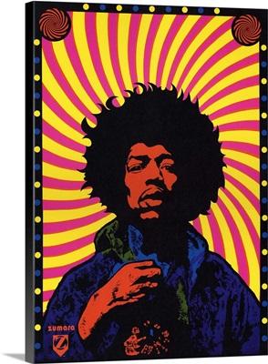 Jimi Hendrix Swirl
