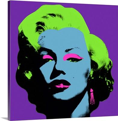 Marilyn Monroe Green Hair