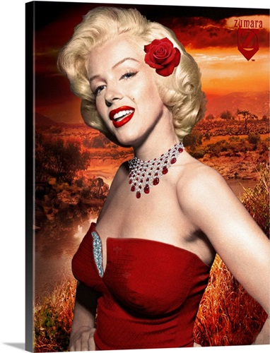 Marilyn Monroe How to Marry a Millionaire 138 Wall Art, Canvas ...