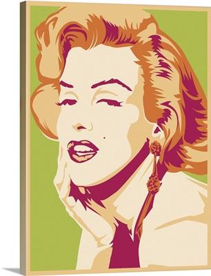 Marilyn Monroe Psychedelic