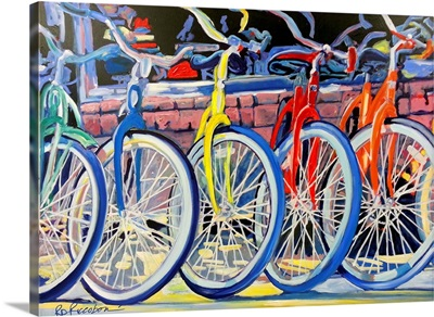 Bicycle Shop - Yellow Bike