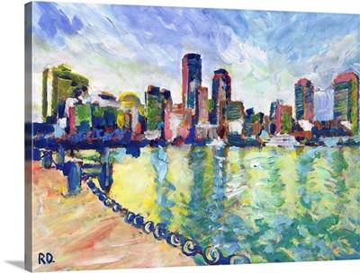 Boston Ma Boston Harbor Harvard Yard 2016