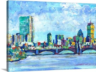 Boston Massachusetts Charles River - Back Bay