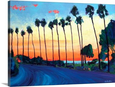 California Sunset La Jolla Beach