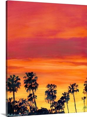 February Sunset San Diego