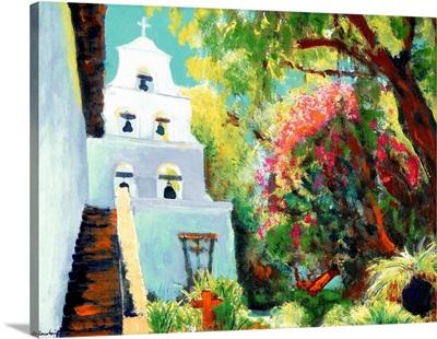 Mission de Alcala painting