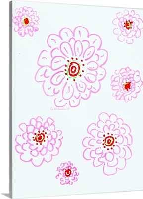 Palm Beach pink flowers