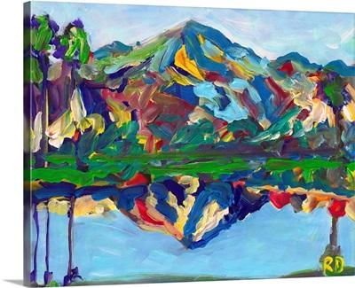 Palm Springs San Jacinto Reflection