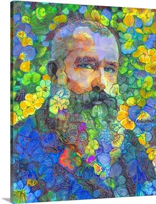 Papa Bear, Monet in The Flower Garden