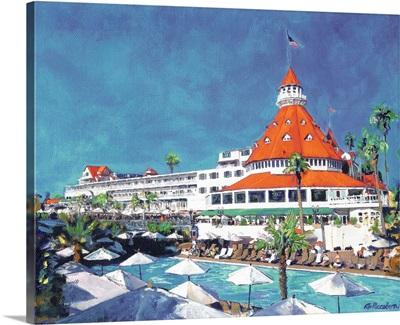 Poolside At Hotel Del Coronado