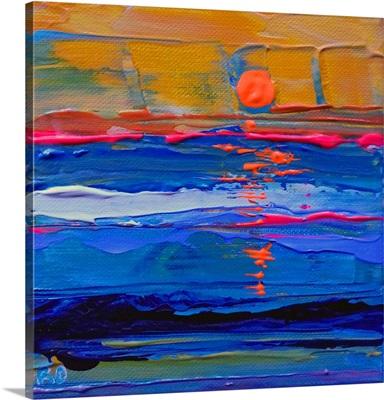 Return To Ocean Beach 2015 abstract