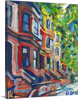 Row Houses Brooklyn New York City