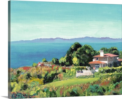 Santa Monica Bay from Palos Verdes California