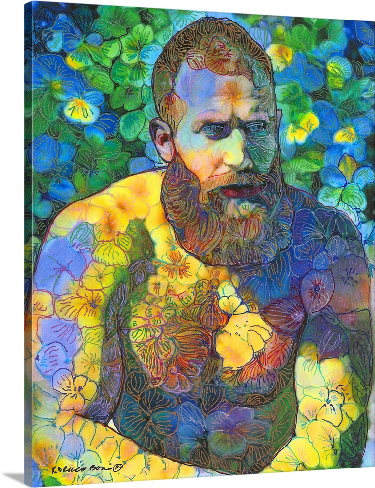 Vincent Van Garden Bear 38