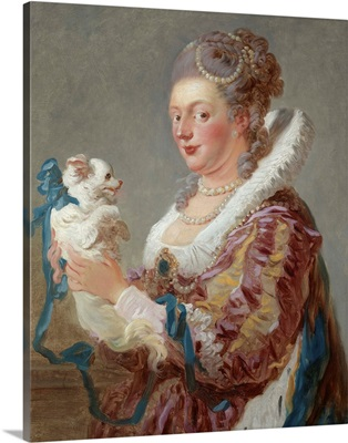 A Woman with a Dog