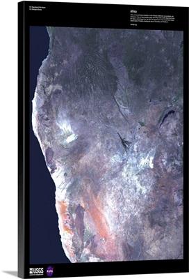 Africa - USGS Earth as Art