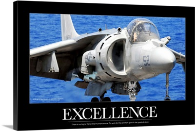 Air Force Poster: Excellence