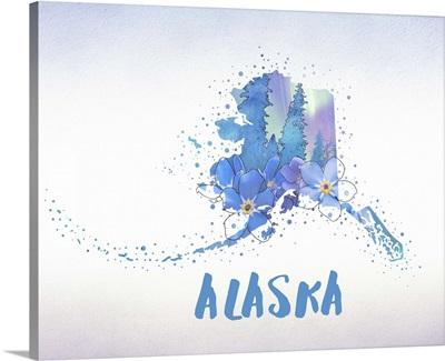 Alaska State Flower (Forget-Me-Not)