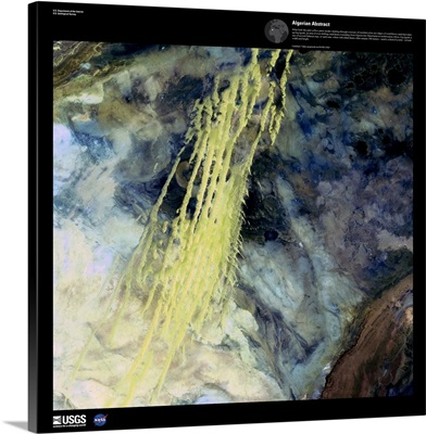 Algerian Abstract - USGS Earth as Art