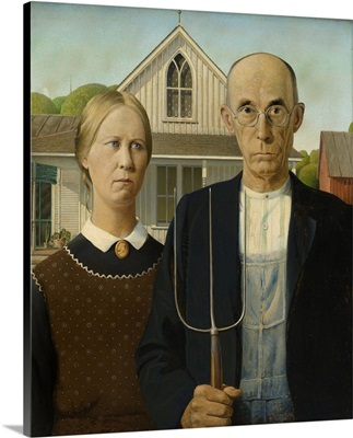 American Gothic - Original Color
