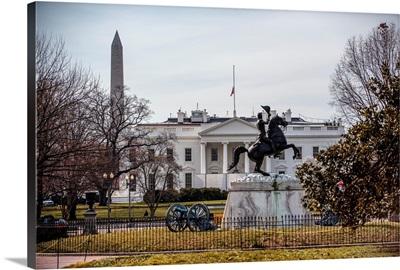 Andrew Jackson Sculpture in Washington, DC