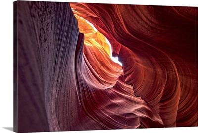 Antelope Canyon Colorful Walls