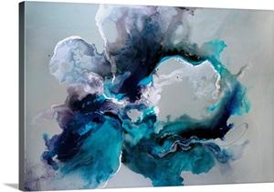 Blue Wall Art Blue Wall Decor Blue Artwork Great Big Canvas
