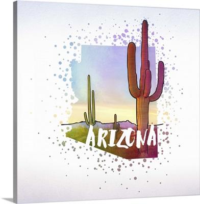 Arizona State Flower (Saguaro Cactus)
