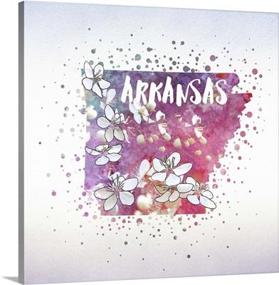 Arkansas State Flower (Apple Blossom)