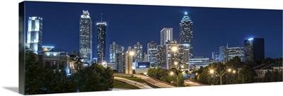 Atlanta, Georgia, skyline at night