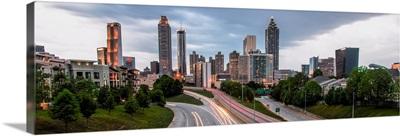 Atlanta, Georgia Skyline in the Early Evening