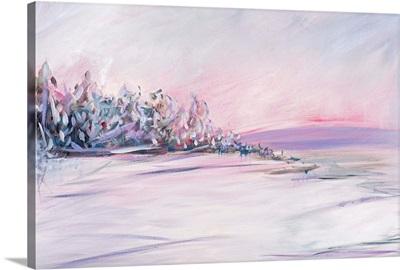 Blush Winter Sunset