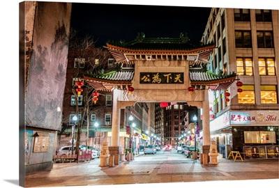 Boston Chinatown Gate
