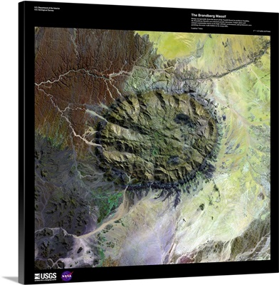 Brandberg Massif - USGS Earth as Art