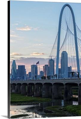 Bridge Over River in Dallas