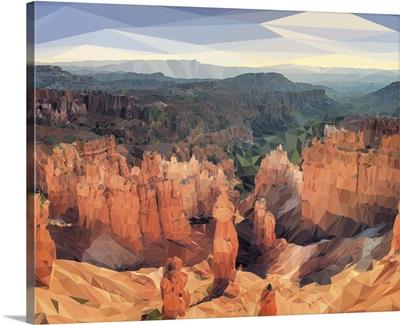 Bryce Canyon - Low-Poly Art