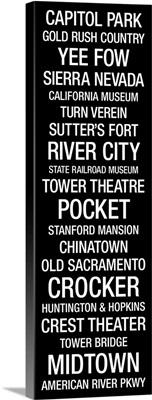Bus Roll: Sacramento, California