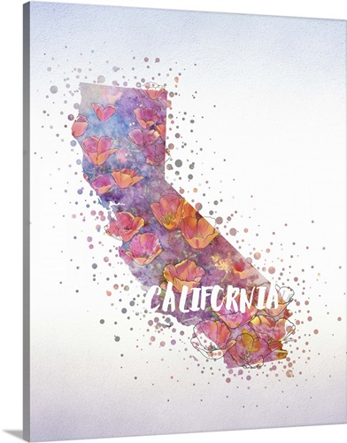 California state flower california poppy wall art canvas prints california state flower california poppy mightylinksfo