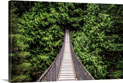 Capilano Suspension Bridge, North Vancouver, British Columbia, Canada
