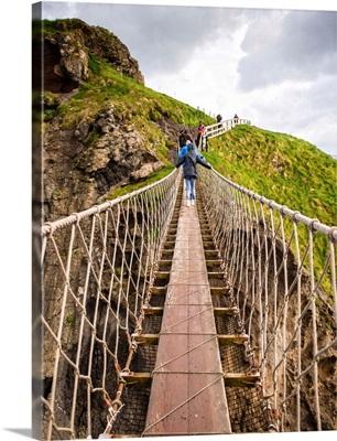 Carrick-a-Rede Rope Bridge, County Antrim, Northern Ireland