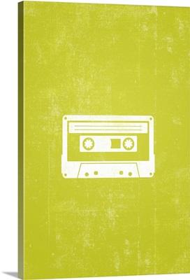 Cassette Tape silhouette art